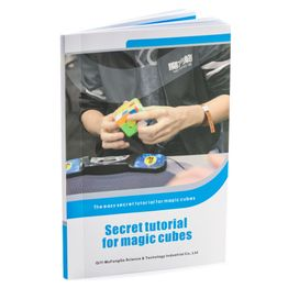 QiYi Secret Tutorial Book tutorials for various speed cubes, in English